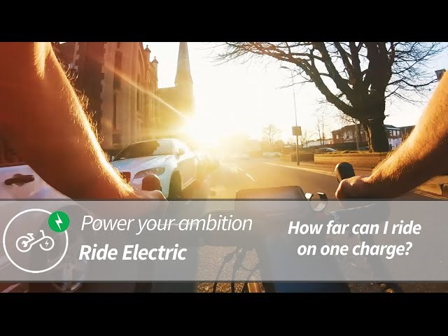 Electric Road Bike Range Test - Bristol To Cardiff | Power Your Ambition | Ride Electric